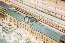 Modellbahnwelt Schilern - Hauptbahnhof St. Pölten